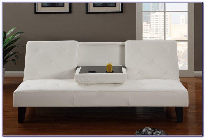 Leather Futon Sofa Bed Furniture