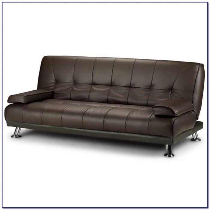 Modern Leather Futon Sofa Bed