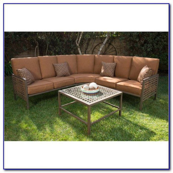 Outdoor Wicker Sectional Sofa