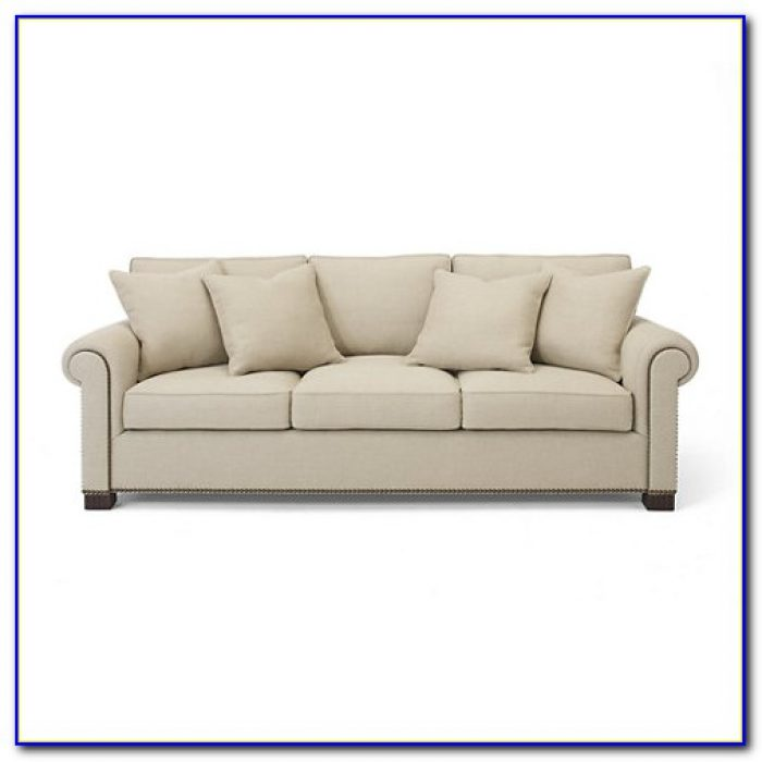 Ralph Lauren Brompton Leather Sofa