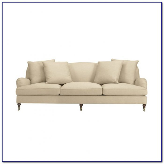 Ralph Lauren Home Leather Sofa