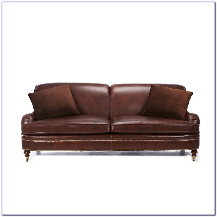 Ralph Lauren Leather Couches