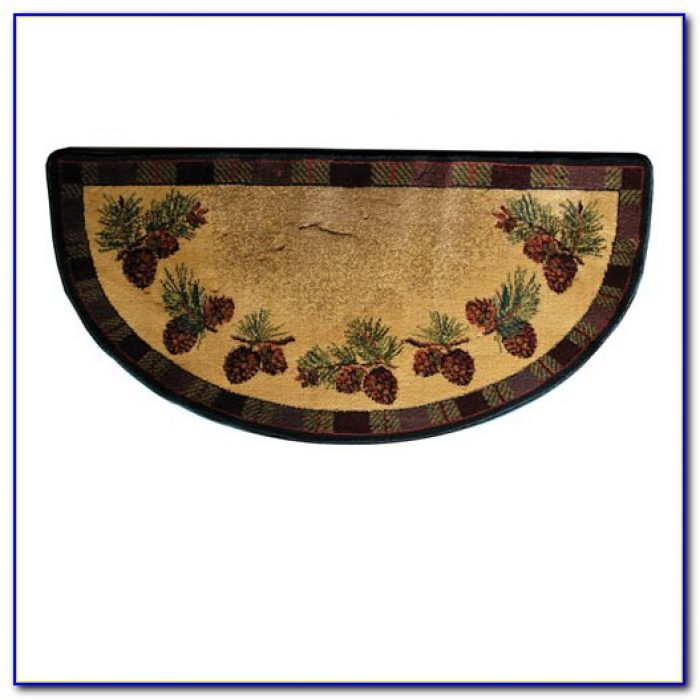 Rectangular Fireplace Hearth Rugs