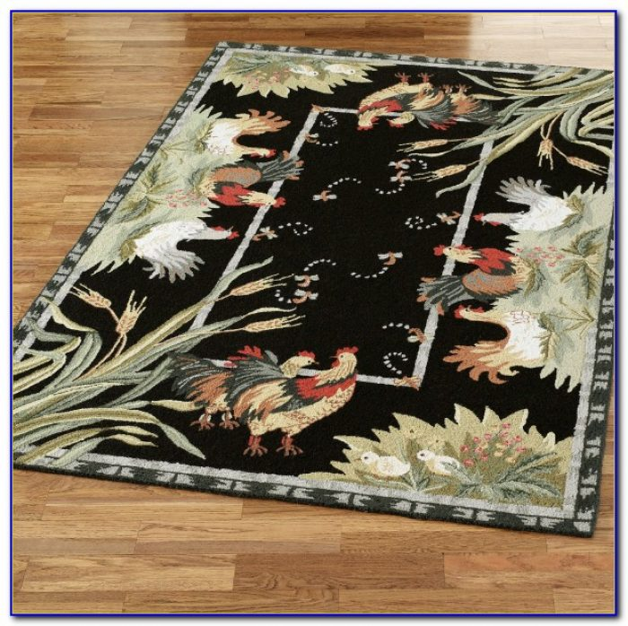 Rooster Area Rugs Kitchen
