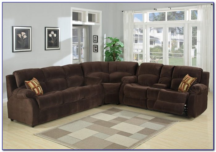 Sectional Sofa With Recliners And Bed