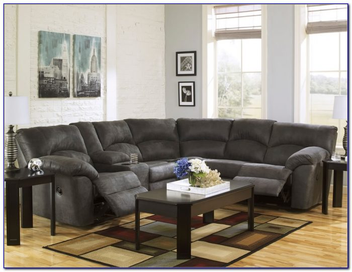 Sectional Sofas With Recliners And Cup Holders
