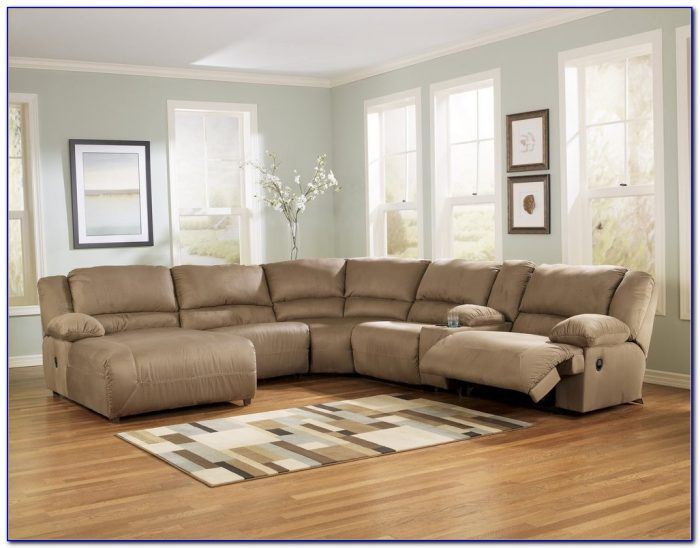 Sectional Sofas With Recliners Ashley