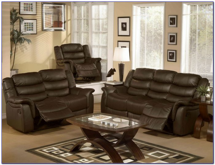 Sofa And Loveseat Set Leather