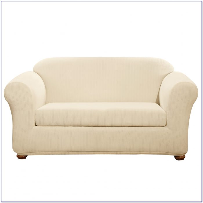 Sure Fit Sofa Slipcover Chocolate