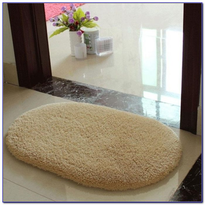 Unique Black Bathroom Rugs