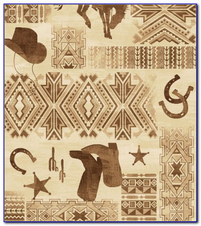 Western Style Accent Rugs