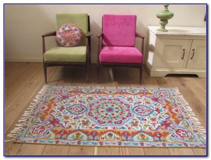 White Area Rugs 3x5