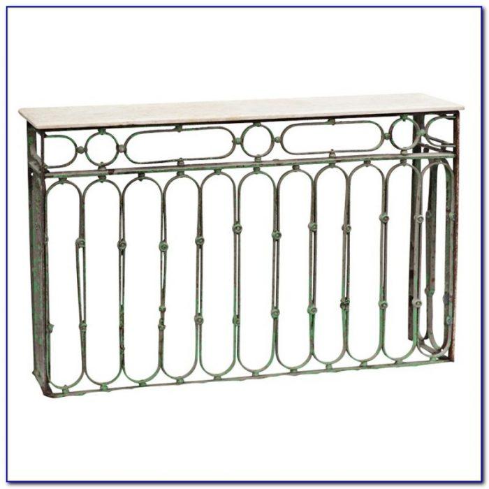 Wrought Iron Sofa Table Base