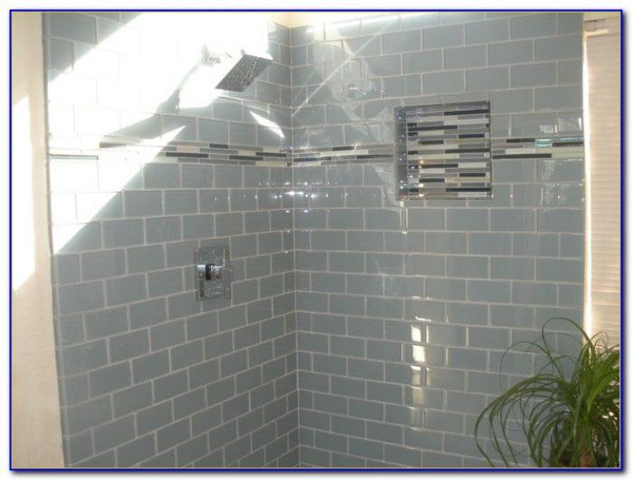 3x6 Cream Glass Subway Tile