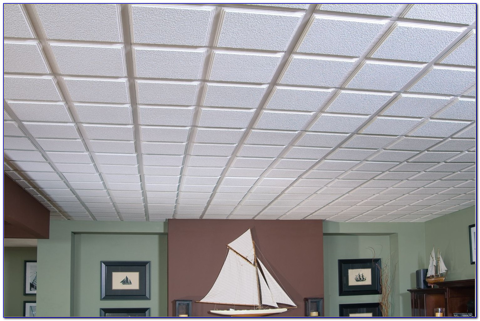 Armstrong Ceiling Tile 2x4 Second Look