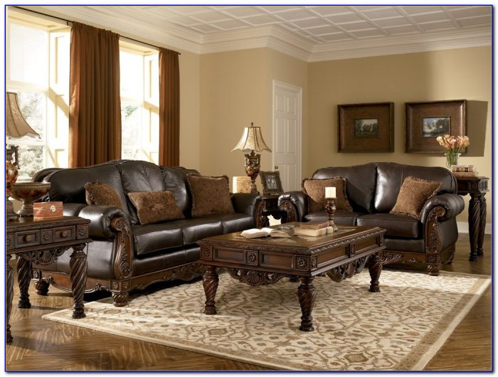 Ashley North Shore Sofa Set