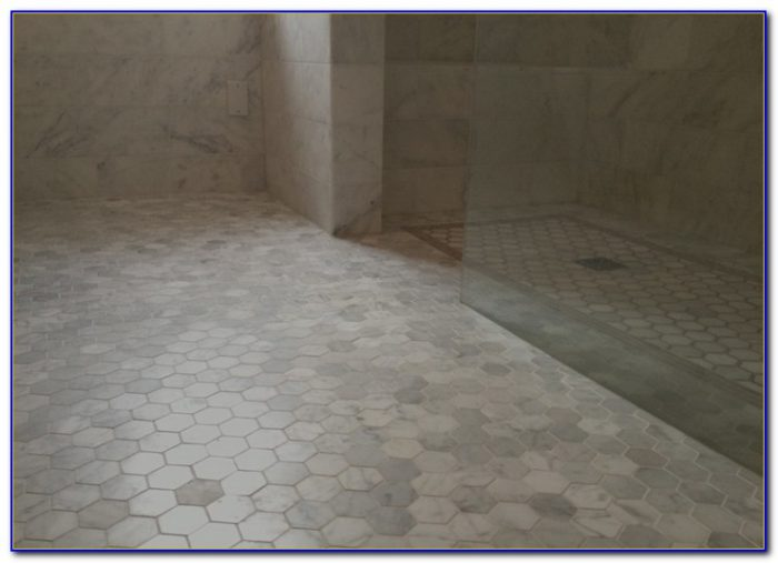 Bianco Carrara Marble Hex Tile