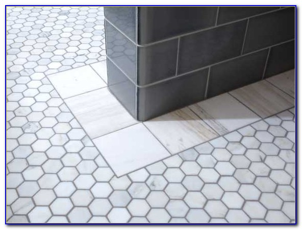 Carrara Marble Hex Floor Tile