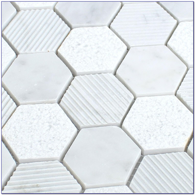 Carrara Marble Hex Tile