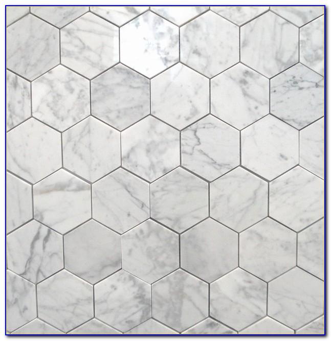 Carrara Marble Hexagon Tile Uk