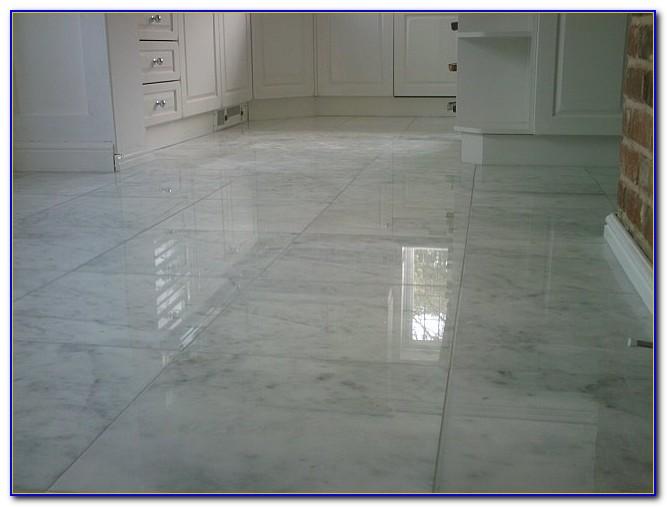 Carrara Marble Mosaic Floor Tile