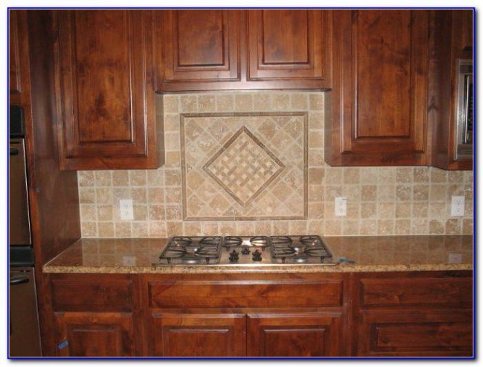 Cleaning Tumbled Marble Tile Backsplash