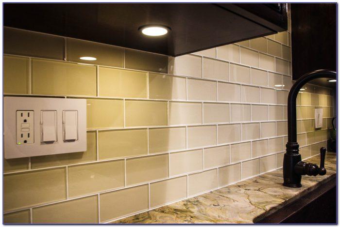 Cream Subway Tile Backsplash Ideas