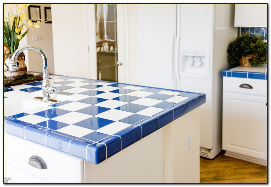 How To Build A Ceramic Tile Kitchen Countertop Kitchen