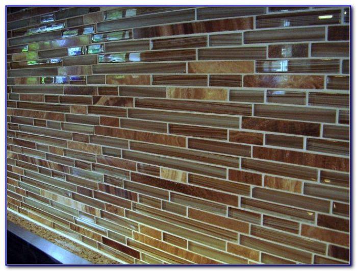 Glass Mosaic Tile Backsplash Canada