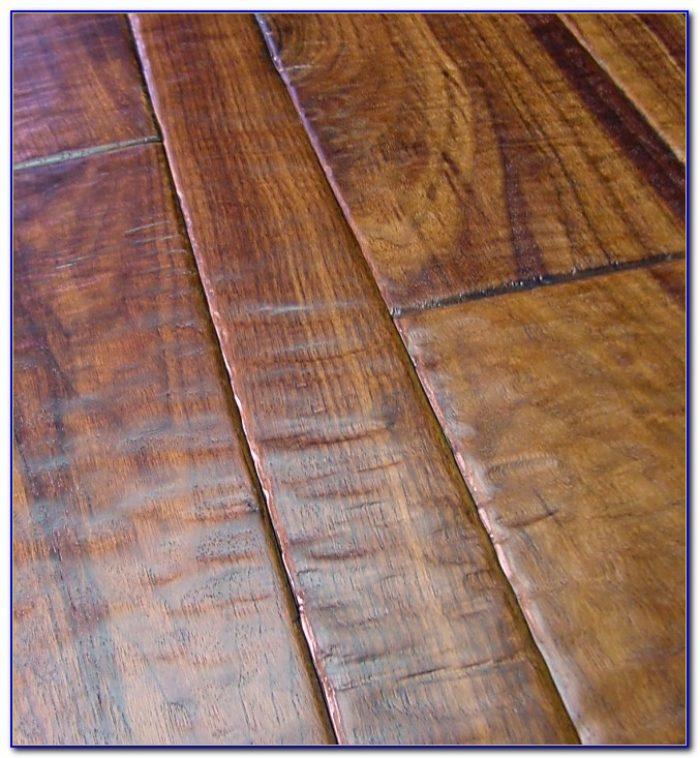 Hand Scraped Wood Tile Flooring