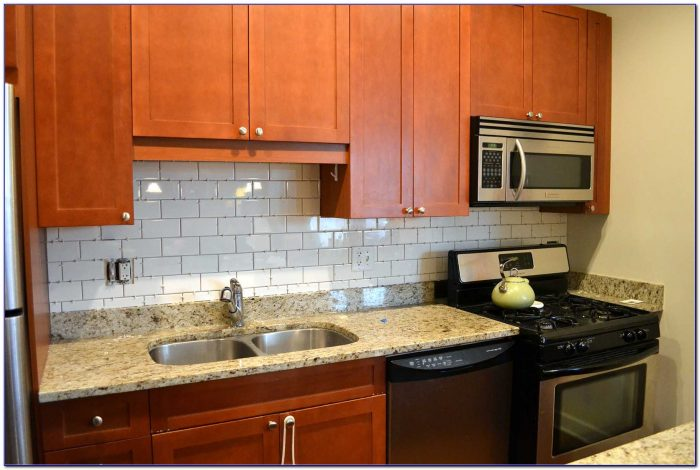 Kitchen Subway Tile Backsplash Houzz