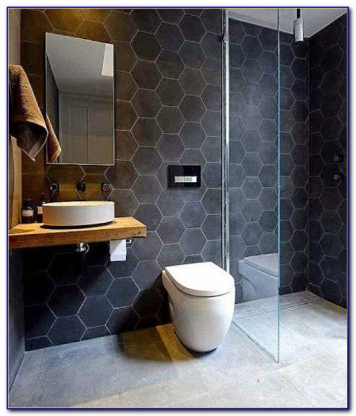 Large Hexagon Porcelain Floor Tile