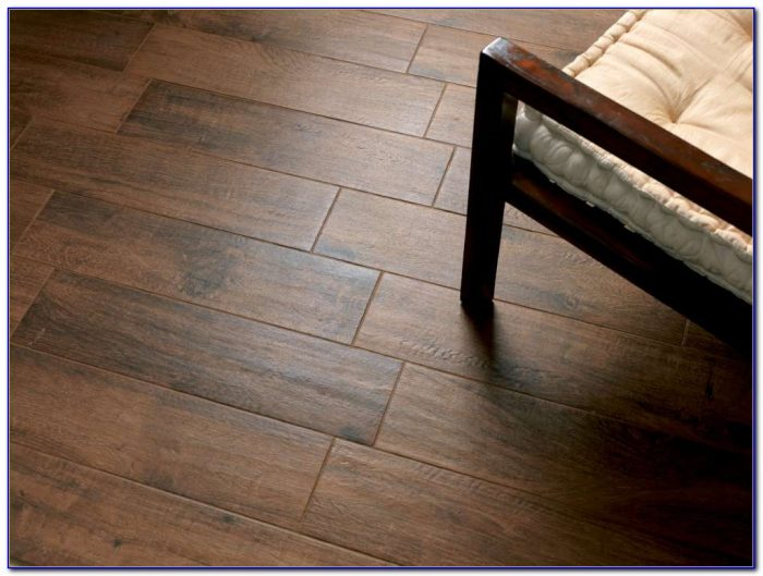 Large Plank Wood Look Tile