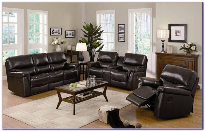 Leather Recliner Sofa Set India