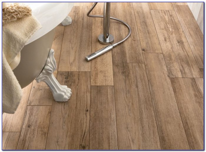 Long Plank Wood Look Tile