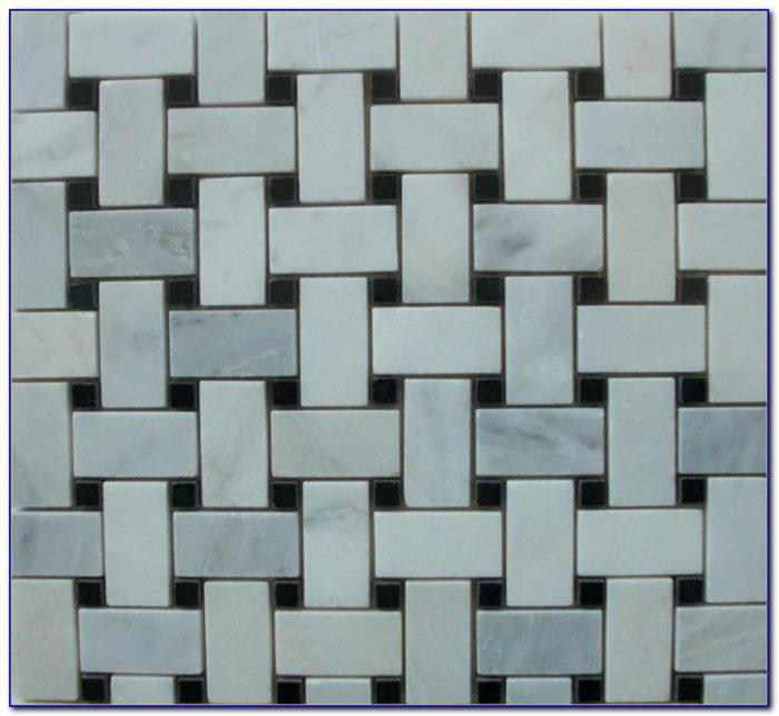 Modified Basket Weave Tile Pattern