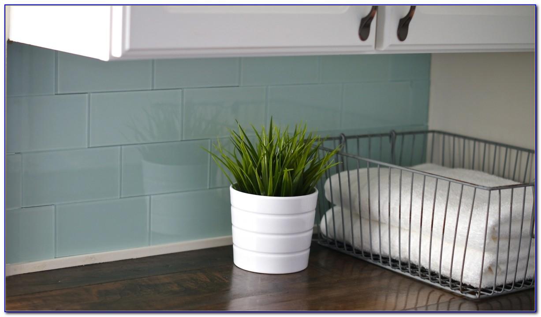 Awe Inspiring Peel And Stick Glass Tile Backsplash No Grout Tiles Home Download Free Architecture Designs Momecebritishbridgeorg