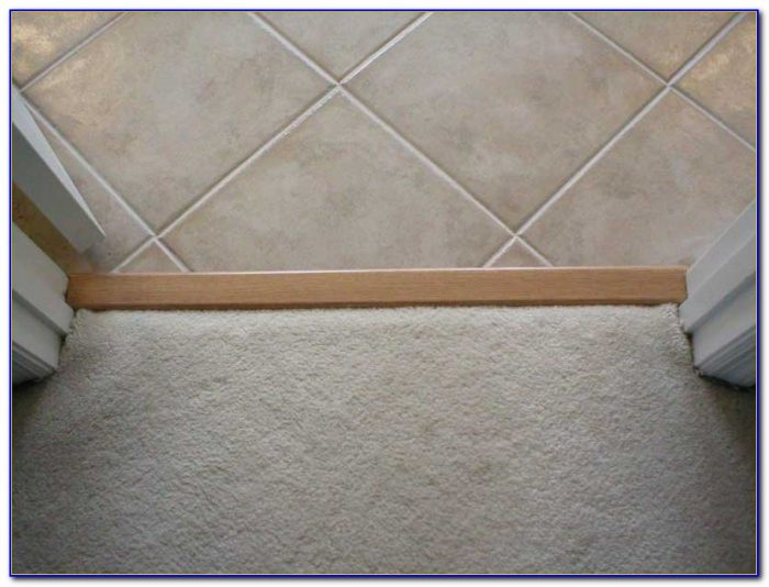 Porcelain Tile To Carpet Transition Strip