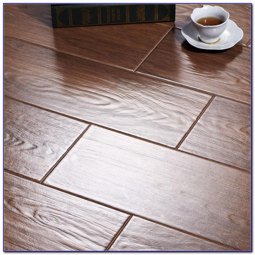 Porcelain Wood Grain Tile Flooring