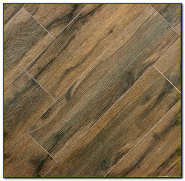 Porcelain Wood Plank Tile Pattern