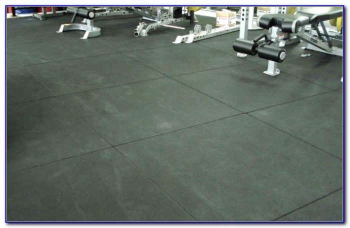 Rubber Gym Floor Tiles Uk