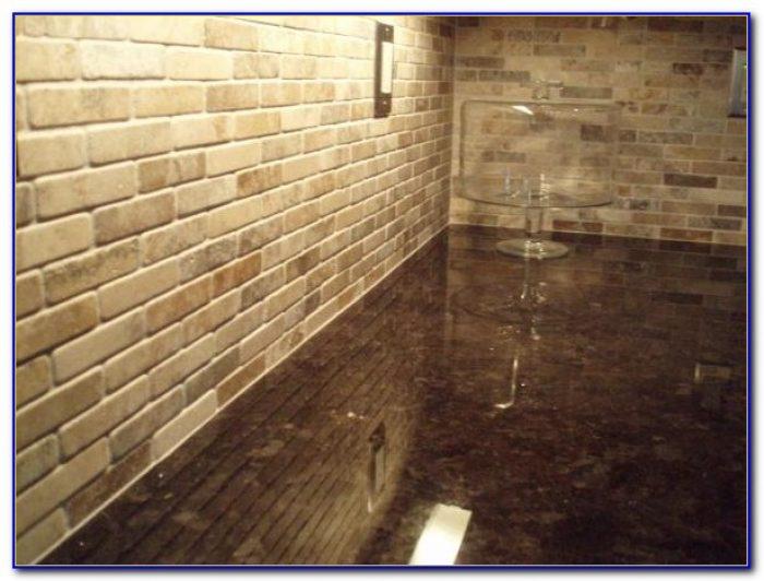 Sealing Tumbled Marble Tile Backsplash