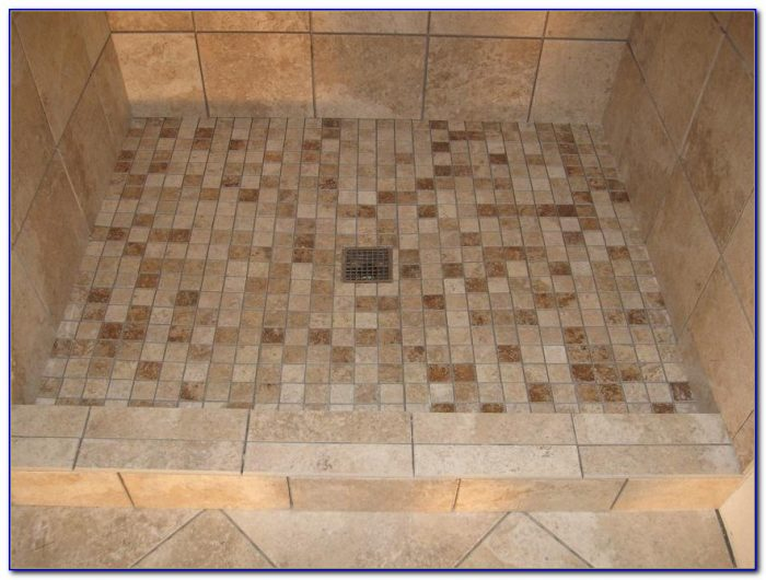 Shower Pan For Tile Walls