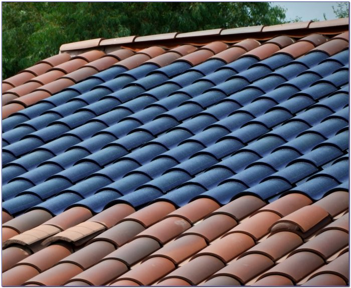Solar Panel Roof Tiles Look Like