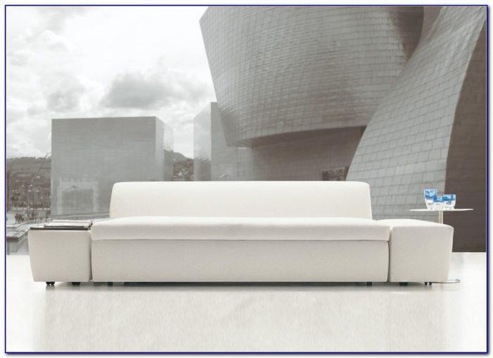 Tan Microfiber Modern Convertible Sectional Sofa Bed