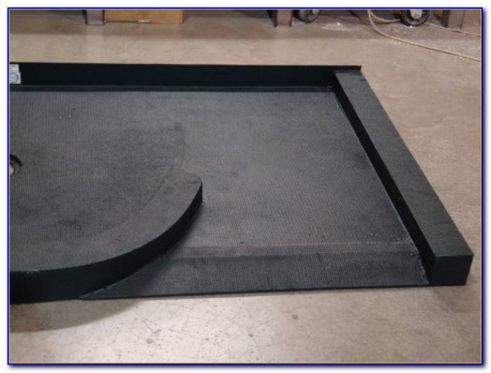 Tile Ready Shower Base With Seat