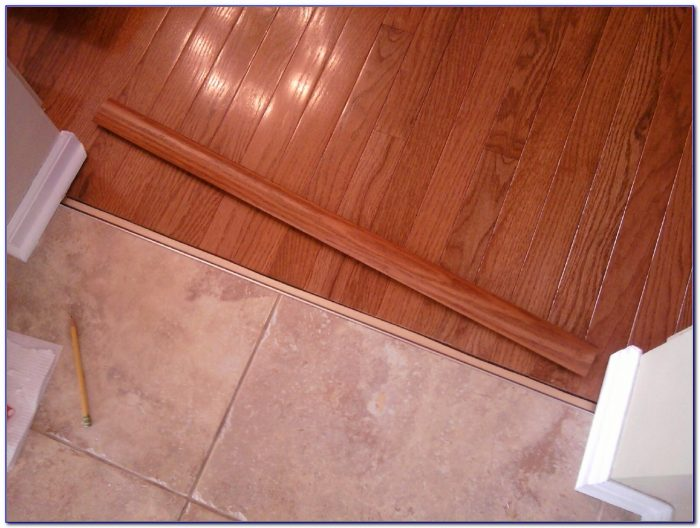 Tile To Hardwood Transition Strip