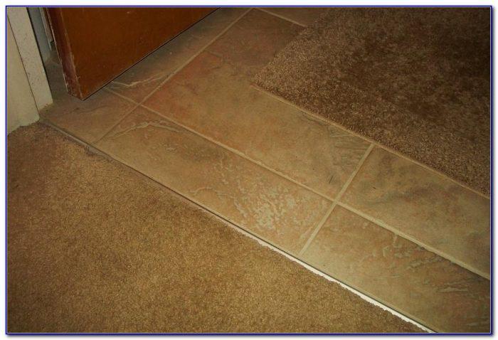 Tile To Wood Floor Transition Doorway