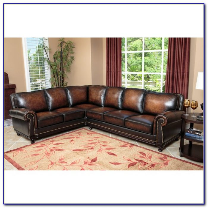 Top Grain Leather Sofa Set