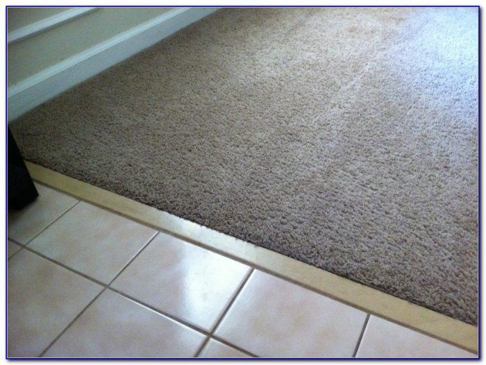 Transition Carpet To Tile In Doorway